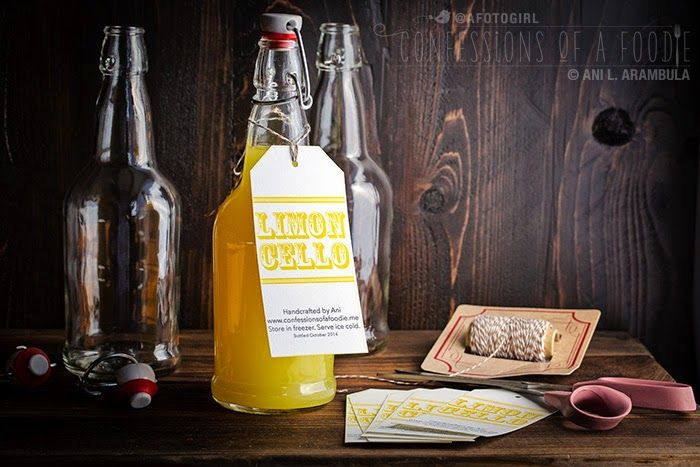 My ode to 'Under the Tuscan Sun': Handcrafted Limoncello {a DIY Christma…