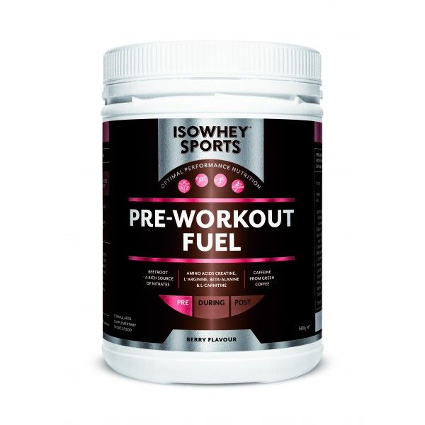 IsoWhey® Sports Pre Workout Fuel - IsoWhey® Sports - Supplements/Nutrition