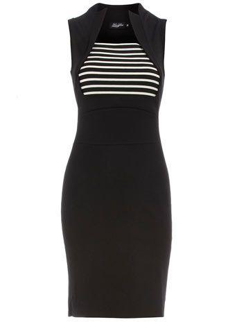 Gorgeous!: Stripe Insert, Dress 55, Dresses, Voom Dress, Space, Black Stripes, Top