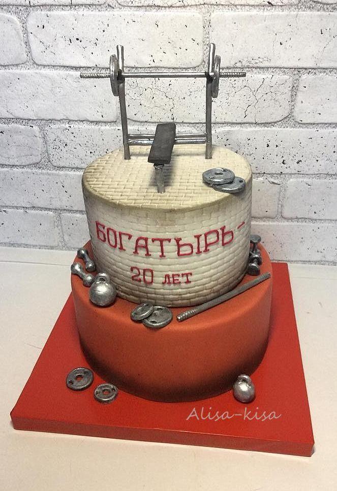 Торт из мастики для мужчины Воронеж