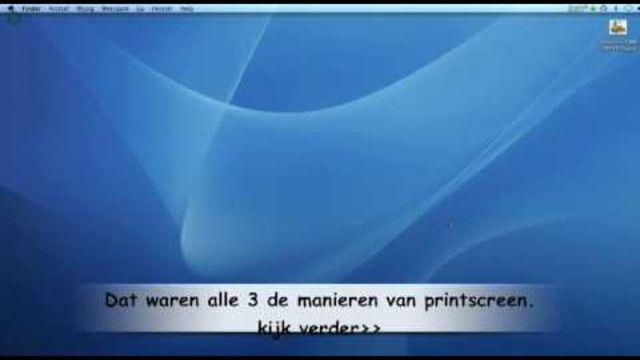 Hoe kun je een printscreen maken op de Mac? - Instructies - Weethetsnel.nl