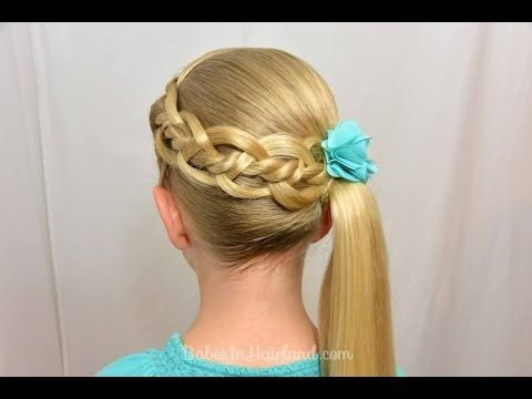 4 Strand Braid with a Twist | BabesInHairland.com