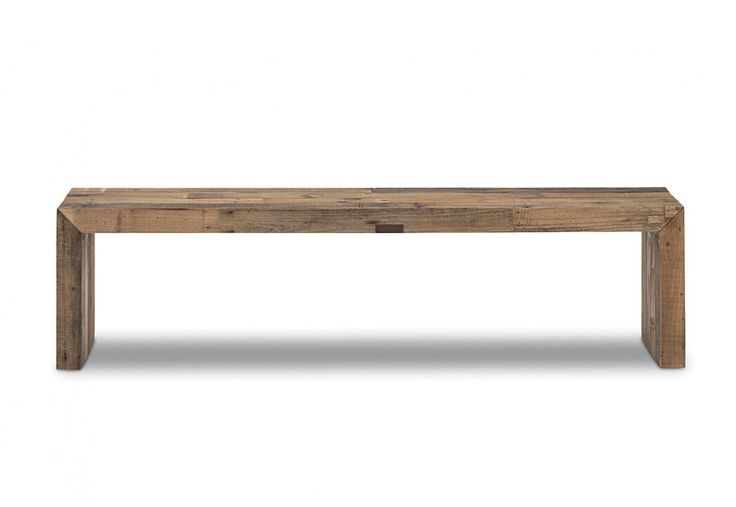#superamartpin2win Vintage Recycled Pallet Wood 1800 Timber Bench Seat | Super A-Mart