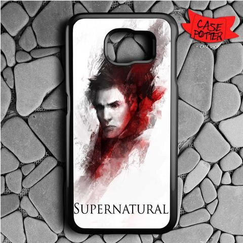 Supernatural Art Samsung Galaxy S6 Black Case