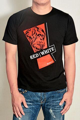 Logo T-shirt – Red|White1945