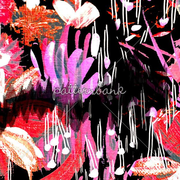 Clashing Floral Lines