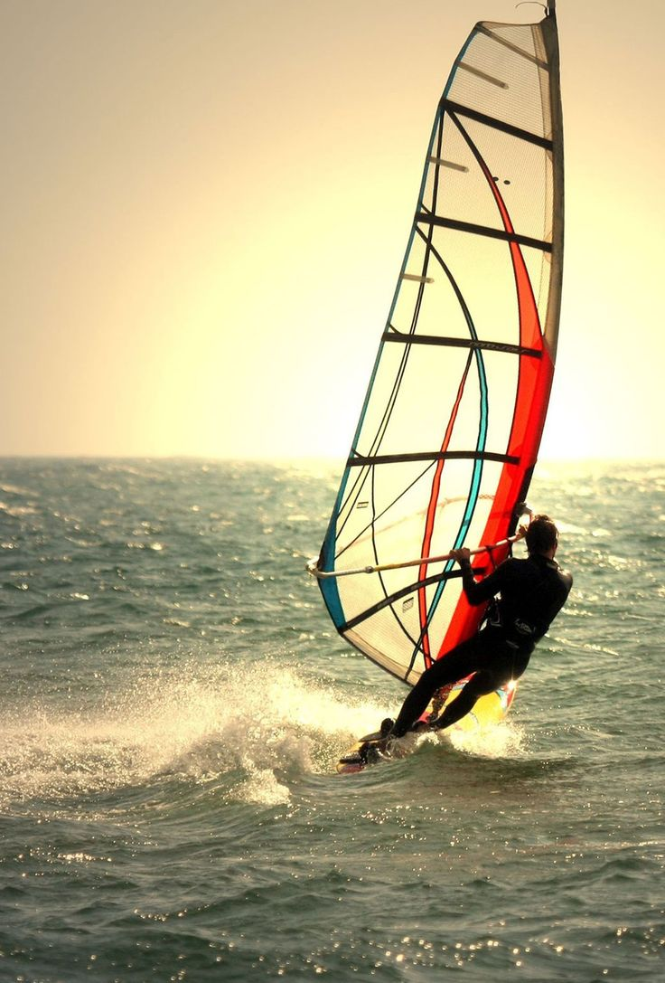 Windsurf in Tampa HD Wallpaper