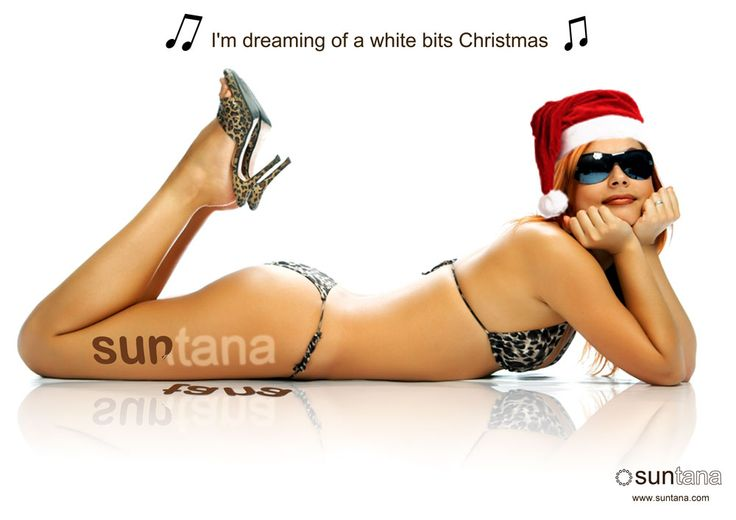 Our 'white bits' Christmas poster