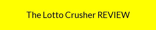 The Lotto Crusher REVIEW http://reviews2.info/the-lotto-crusher-review