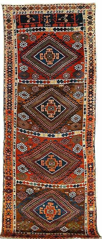 YÖRÜK Kurdish Rug Turkey 19th C Lot 159