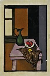 Table with objects. 1947. Tassos (Tassos Alevizos).