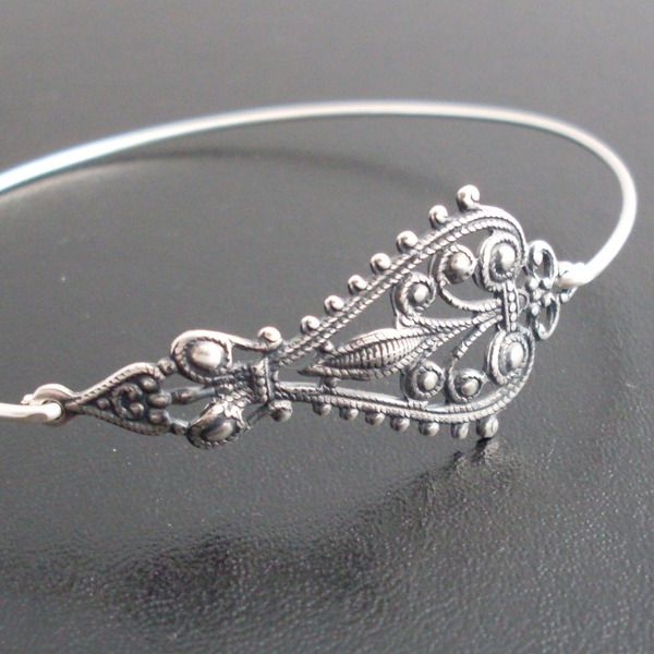 Armreife - Armreif Maylana - Silber Armband - ein Designerstück von frostedwillow bei DaWanda