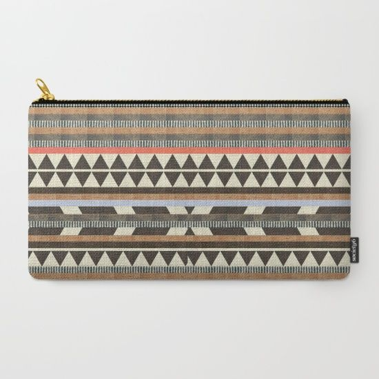 DG Aztec No.1 Carry-All Pouch by Dawn Gardner | Society6