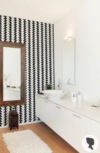 13 best images about inspirations salles de bain on. Black Bedroom Furniture Sets. Home Design Ideas