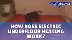 Electric Underfloor Heating: How Does Electric Underfloor Heating Work? | MultiPlumb Bathrooms, Plumbing & Heating Installation https://www.multiplumb.co.uk The Top Rated Plumbing Company in South East London & Kent.