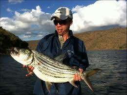 Tiger fish on Jozini dam