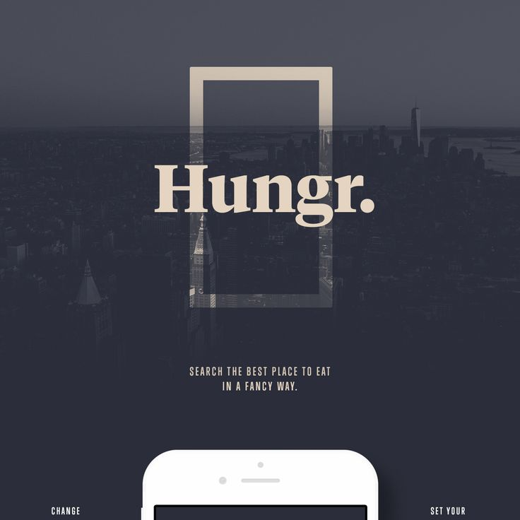 Hungr. iOS App on Behance
