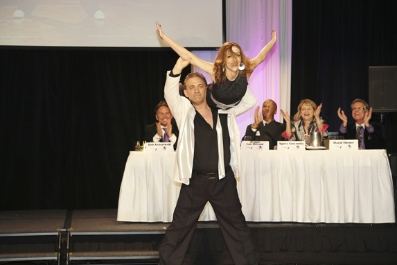 St. Louis' own donned sequined gowns and tuxedos for a star-studded dance competition at the Four Seasons Hotel St. Louis to benefit The Independence Center. Photos by DIANE ANDERSON