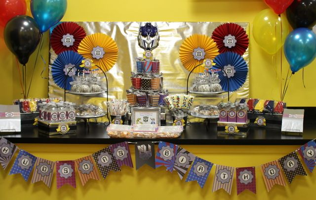 , Birthday Parties, Parties Transformers, Parties Ideas, Transformers