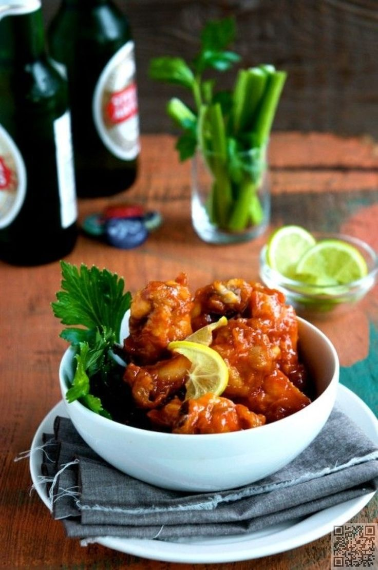 20. #Sriracha Chicken #Wings - These 23 #Chicken Wing Recipes Will Fly off the #Plate ... → Food #Ranch