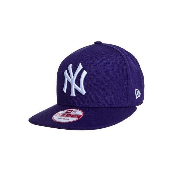 Boné New Era Basic New York Yankees Roxo (100 BRL) ❤ liked on Polyvore featuring home and kitchen & dining