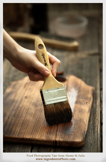 Create your own vintage cutting board.