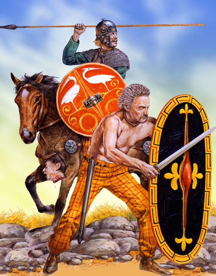 Celtic Warriors Gallic War Art Pinterest Krijgers