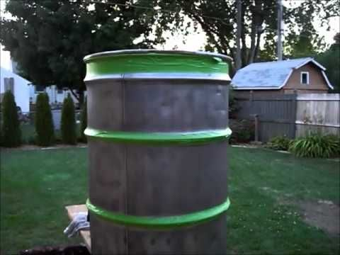 How to Build a Verticle Drum Smoker. UDS 55 Gallon Drum Smoker - YouTube