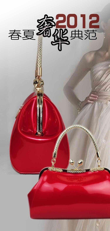 2014 sosire noi din piele de brevet de inventie sac partid bomboane saci femei sac genți de mână / Tote Bag / umăr WLHB281 în Saci de top-maner din bagaje & Pungi de pe Aliexpress.com | Alibaba Group