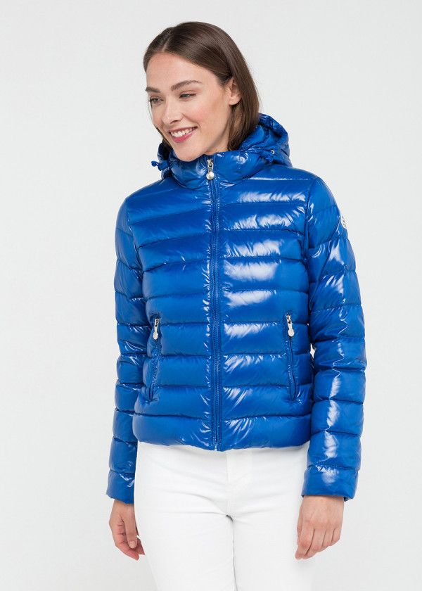 af2a32ce5 Spoutnic Shiny Down Jacket in 2019 | Down Coats | Jackets, Puffy ...