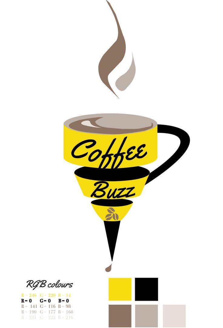 Coffee Buzz Logo in  RGB Colours