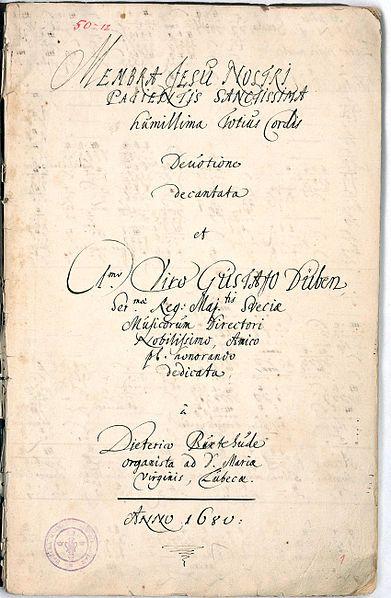ConSentido Propio: Dietrich Buxtehude (2): Membra Jesu Nostri