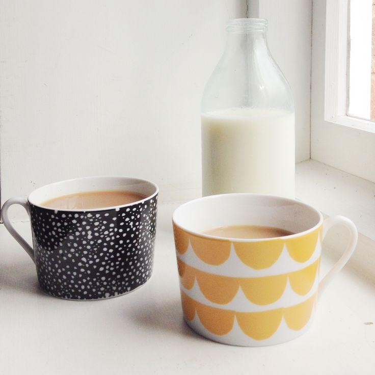 Porcelain Sprinkle Sprinkle Little Spot Cup by House Of Rym.