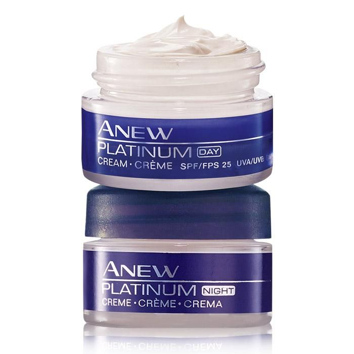 Resculpt your features with Anew Platinum Day Cream. Regain the elegance of a smooth and lifted jawline. This formula is designed to lift, firm and support your skin. After 4 weeks notice visible reduction deep wrinkles and a dramatic reduction in the appearance of sagging skin.  To buy New Avon products online, go to: http://youravon.com/mcampbell1216