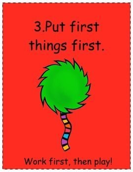 SEVEN 7 HABITS OF HAPPY KIDS TRUFFALA TREE (DR. SUESS) - TeachersPayTeachers.com