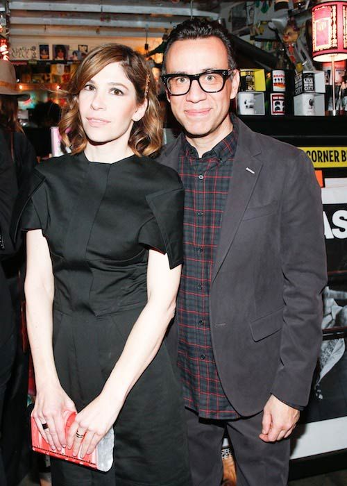 Carrie Brownstein and Fred Armisen...