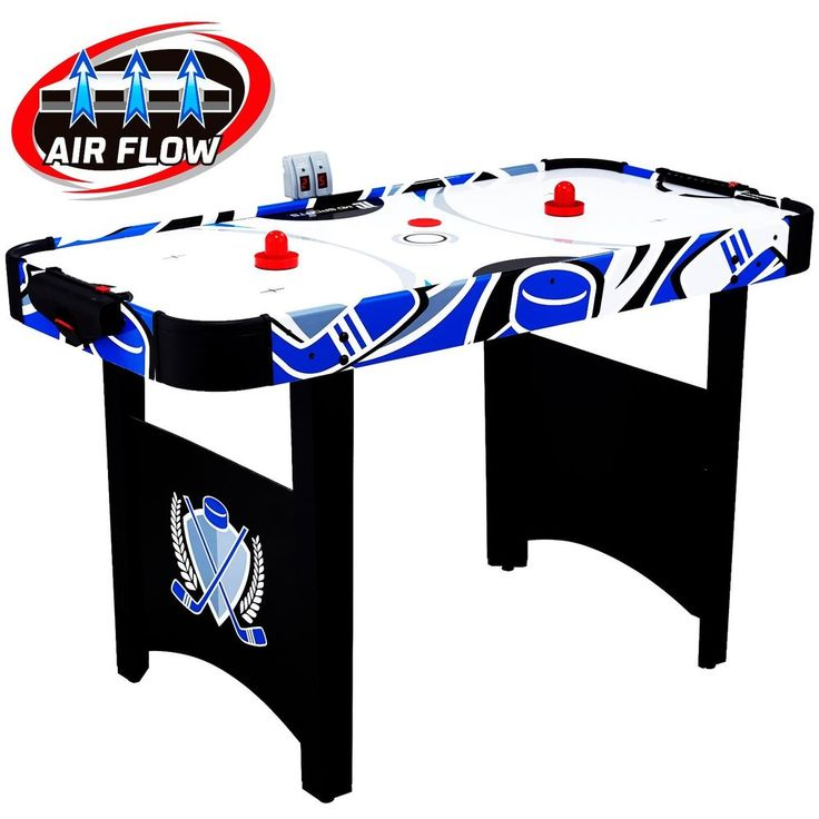 MD Sports Air Powered Hockey Table Game 48 Scoring With