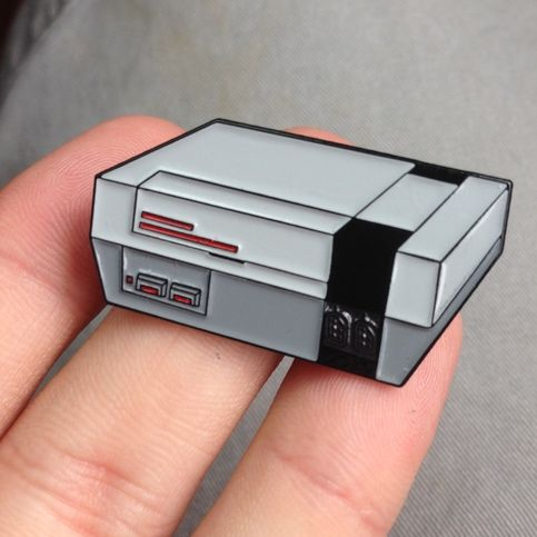 Retro Console Pin · Toy World · Online Store Powered by Storenvy