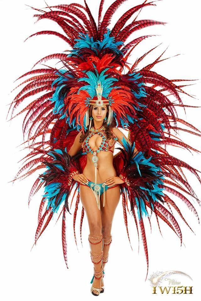 Trinidad fashion FANTASY 2015 #carnival