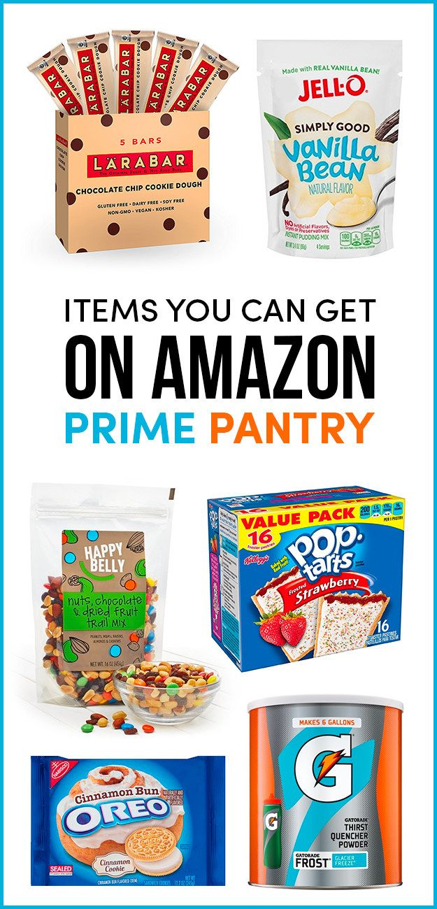 32 Of The Best Things You Can Get On Amazon Prime Pantry