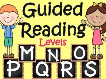Guided Reading Levels M,N,O,P Q R,S28 Reading passages and 28 comprehension printables for each one.Non-fiction and Fiction PassagesGreat for small group guided reading groups, individualized homework or independent practice.Each level is also sold separately in my store.