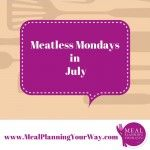 Meatless Mondays in Winter - July (in the southern hemisphere)