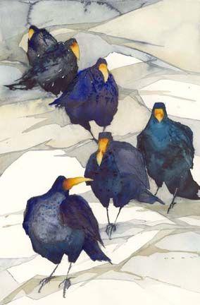Get in line Raks...artist is Anna Tornquist