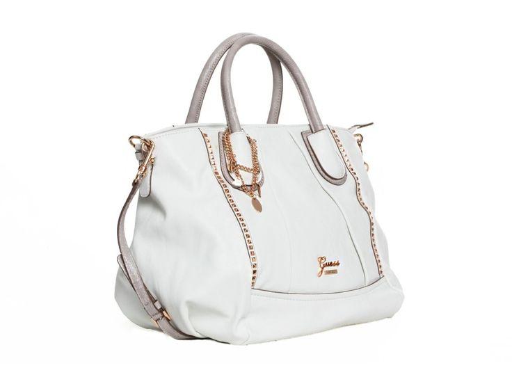 Dámská bílá kabelka GUESS - 100062080 | obujsi.cz - dámská, pánská, dětská obuv a boty online, kabelky, módní doplňky