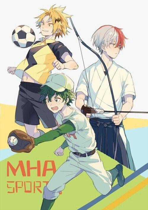 Boku no Hero Academia || Todoroki Shouto, Midoriya Izuku