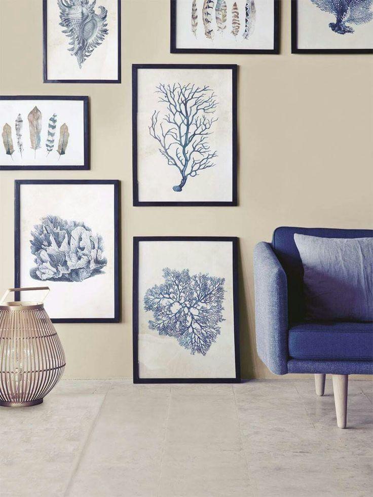 Schöne Blautöne fürs Wohnzimmer