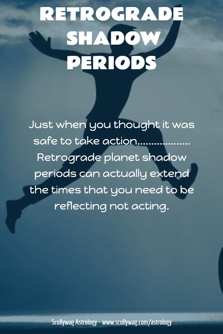 If you have even a passing interest in astrology you have no doubt heard of retrograde planets and Mercury retrograde in particular. With Mercury, the retrograde period lasts about 3 weeks. After that three-week period, you may think that it is now fine to move ahead with plans you may have put off because of the retrograde period.However, it may not be smooth sailing just yet, as the retrograde planets have what are called shadow periods. #Mercury #retrograde #shadow #retroshade