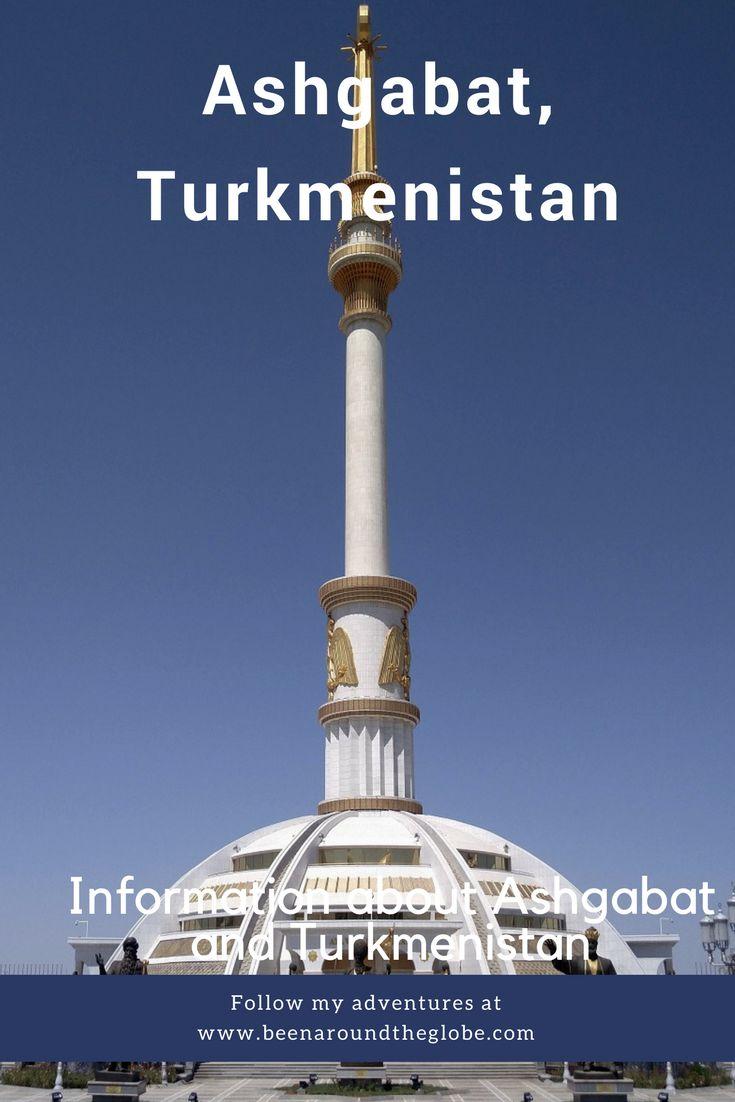 Ashgabat, Turkmenistan, Central Asia, black travel movement