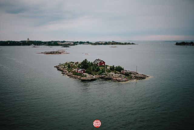 Small island by Jussi Hellsten