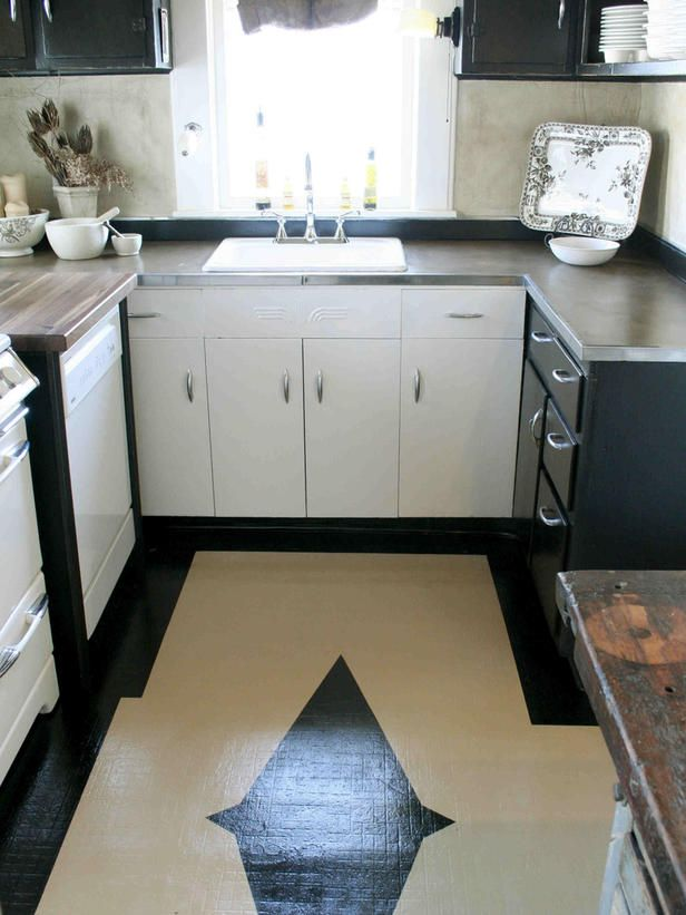 1000 ideas about painted vinyl floors on pinterest for How to remove paint from linoleum
